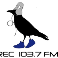 Logo of radio station R.E.C 103.7 FM