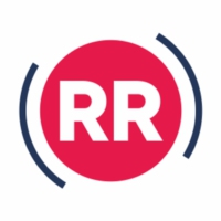 Logo of radio station Rietumu Radio