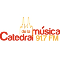 Logo of radio station La Catedral de la Musica 91.7 FM
