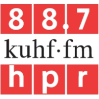 Logo of radio station KUHF 88.7 FM