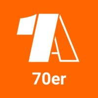 Logo of radio station - 1A 70er -