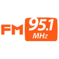Logo of radio station TBS 95.1 FM