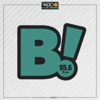 Logo of radio station B Radio 95.6 FM