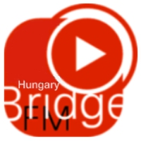 Logo of radio station Bridge fm Hungary