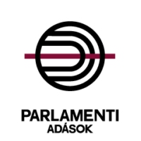 Logo of radio station Parlamenti Adások