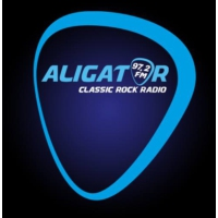 Logo of radio station Rádio Aligator
