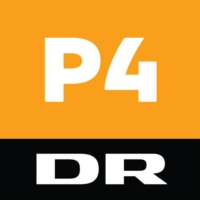 Logo of radio station DR P4 Midt & Vest