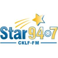 Logo of radio station CKLF FM (Star 94.7)