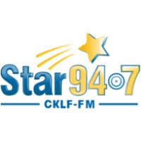Logo of radio station CKLF FM (Star 94.7)