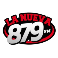 Logo of radio station La Nueva 87.9 Fm