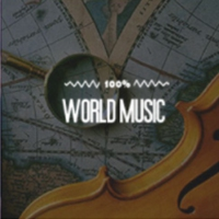 Logo of radio station 100MF - World Music