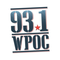 Logo of radio station 93.1 WPOC