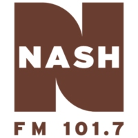 Logo of radio station KAYD Nash FM 101.7
