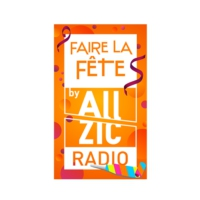 Logo of radio station Allzic Fête