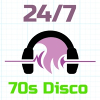 Logo of radio station 24/7 - 70s Disco