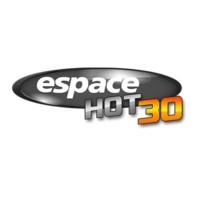 Logo of radio station Radio Espace Hot 30