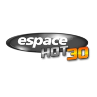 Logo of radio station Radio Espace Hot 30