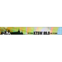 Logo of radio station KTSW Southwest Texas State 89.9 FM