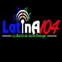 Logo of radio station Latina 104 FM