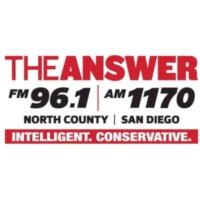 Logo de la radio The Answer San Diego FM 96.1 AM 1170