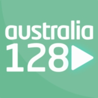 Logo of radio station AUSTRALIA128