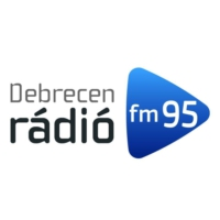 Logo of radio station Debrecen Rádió FM95