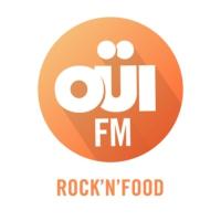 Logo de la radio OUI FM Rock'n'Food