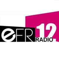 Logo of radio station EFR12 Radio
