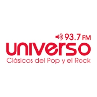 Logo of radio station Universo 93.7 FM