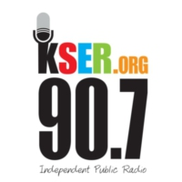 Logo of radio station 90.7 KSER