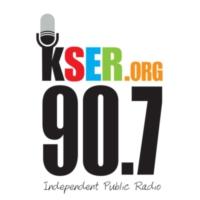 Logo of radio station 90.7 KSER