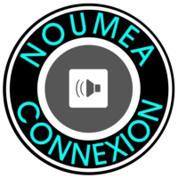 Logo of radio station Nouméa-Connexion