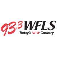 Logo of radio station 93.3 WFLS