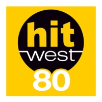 Logo of radio station Hit West 80