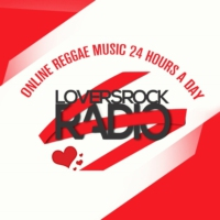 Logo of radio station Loversrock radio UK