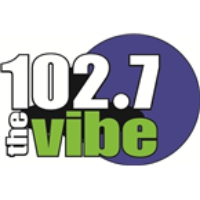 Logo of radio station KBBQ The Vibe 102.7
