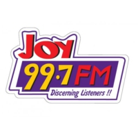 Logo of radio station Joy 99.7 FM