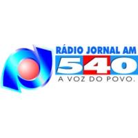 Logo of radio station Rádio Jornal 540