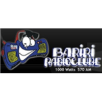 Logo of radio station Bariri Radio Clube 570 AM