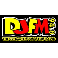 Logo of radio station DJFM