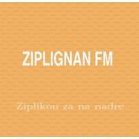 Logo of radio station ZIPLIGNAN FM