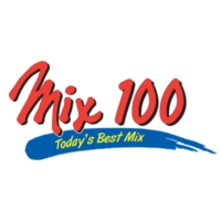 Logo of radio station KIMN Mix 100.3