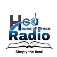 Logo of radio station House of Grace Radio