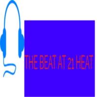 Logo of radio station THE BEAT AT 21 HEAT