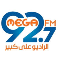 Logo of radio station Mega 92.7 FM