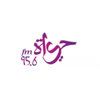 Logo of radio station Hayat 95.6 FM