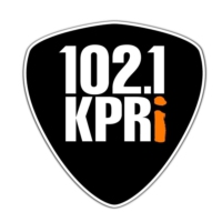Logo de la radio KPRI Authenitc Rock 102.1 FM