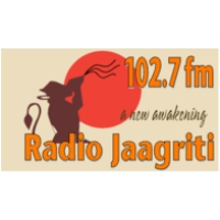 Logo of radio station Jaagriti 102.7 FM