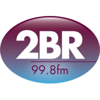 Logo of radio station 2BR