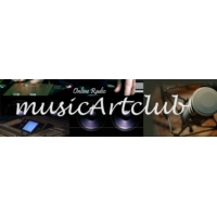 Logo of radio station MusicArtClub Radio